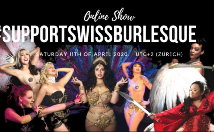 Burlesque Show Online – Premiere am Samstag, 11. April 2020 – 20:00 Uhr