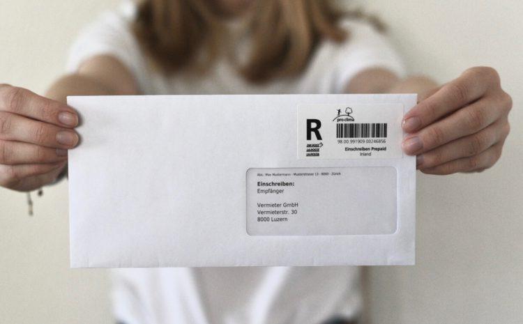 Kündigung ohne bei der Post zu stehen