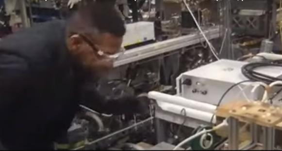 Plasmastrahl zur Desinfektion entwickelt