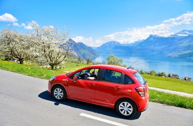 Mobility verhindert 35'500 Autos auf Schweizer Strassen