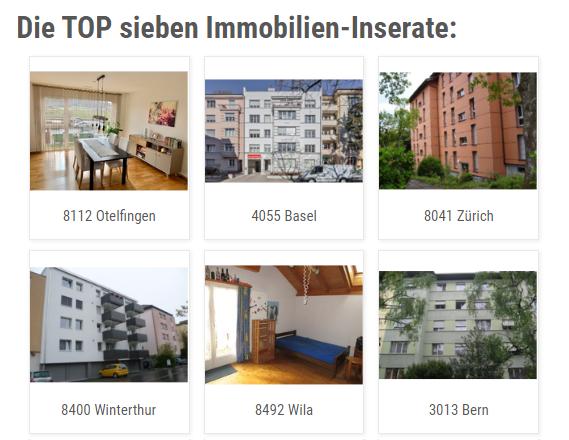 Airbnb-Vermieter überfluten immo7.ch mit Objekten