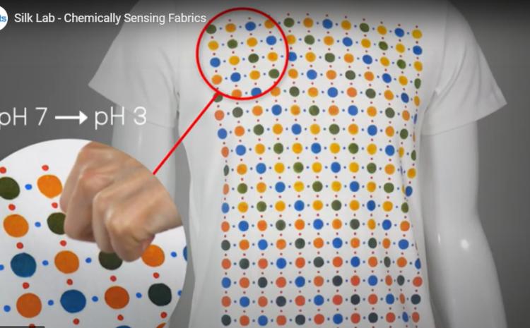 Wundertinte verwandelt Kleidung in Sensoren