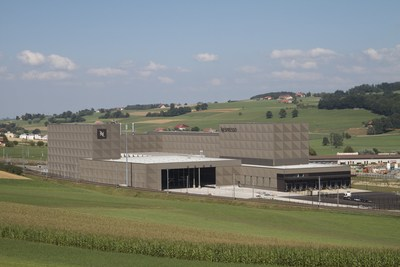 Quelle: Nestle / Nespresso Romont production center in Switzerland
