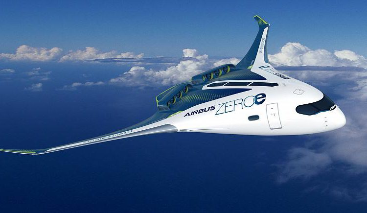 ZEROe is an Airbus concept aircraft running on hydrogen – Copyright  Airbus 2020