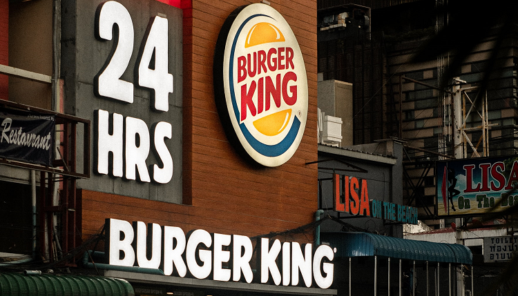 Burger King plant kontaktlose Restaurants