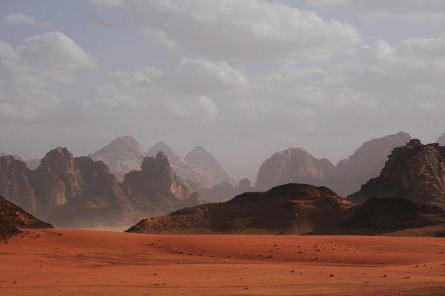 Künftige Häuser auf dem Mars sind aus Chitin