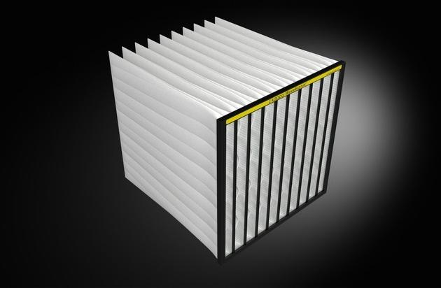 Neues Filterelement für Lüftungsgeräte