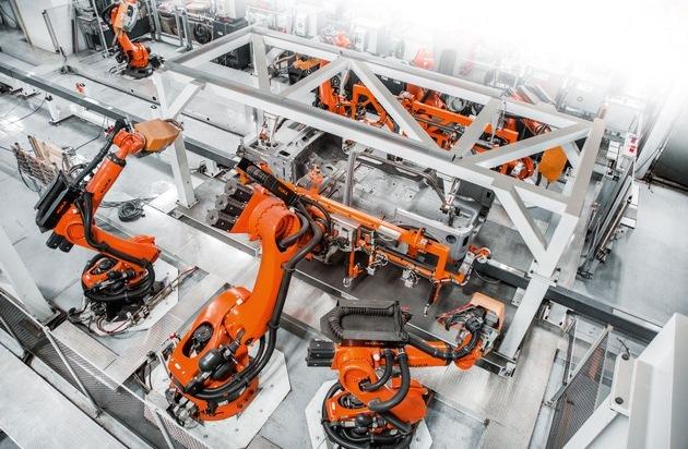 Industrie-Roboter im Vormarsch