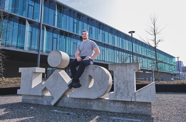 Lidl Schweiz wird Hauptsponsor von Schwinger Samuel Giger