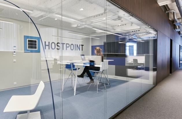 Hostpoint festigt seine Position als grösster Webhosting-Provider der Schweiz