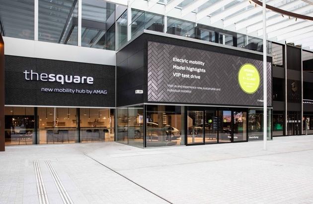 Eröffnung Kompetenzzentrum the square